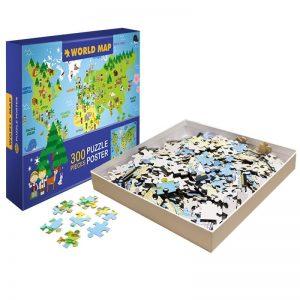 Eigen puzzel kinderen 300 stukjes
