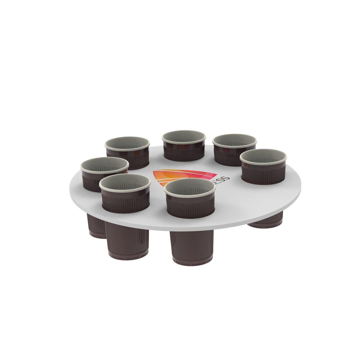 Koffiebeker houders full colour bedrukt