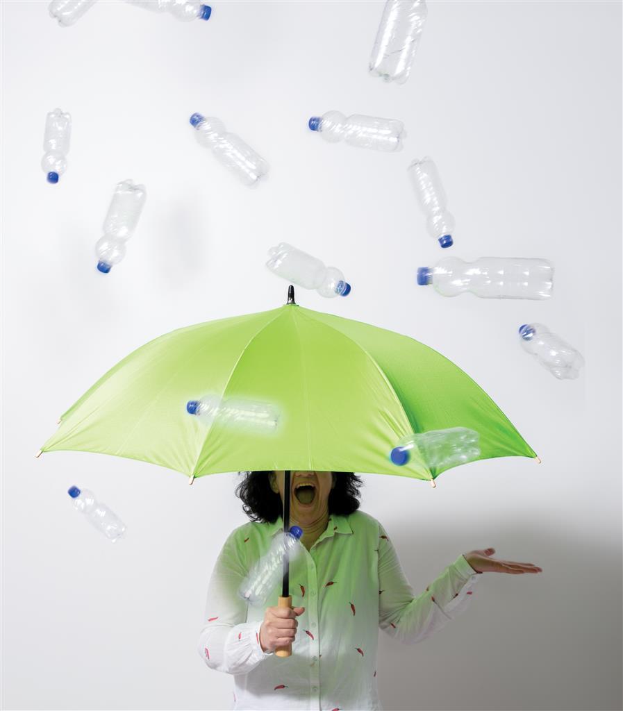 RPET paraplu bedrukken goedkoop